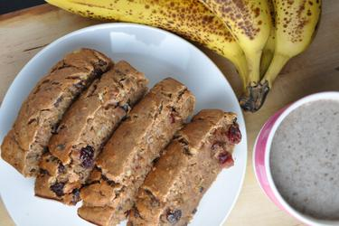 Healthy Banana Bread (Sugar-Free, Fat-Free)
