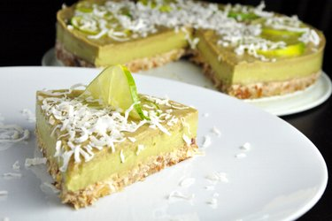Raw Lime-Avocado Cake (Gluten-Free)