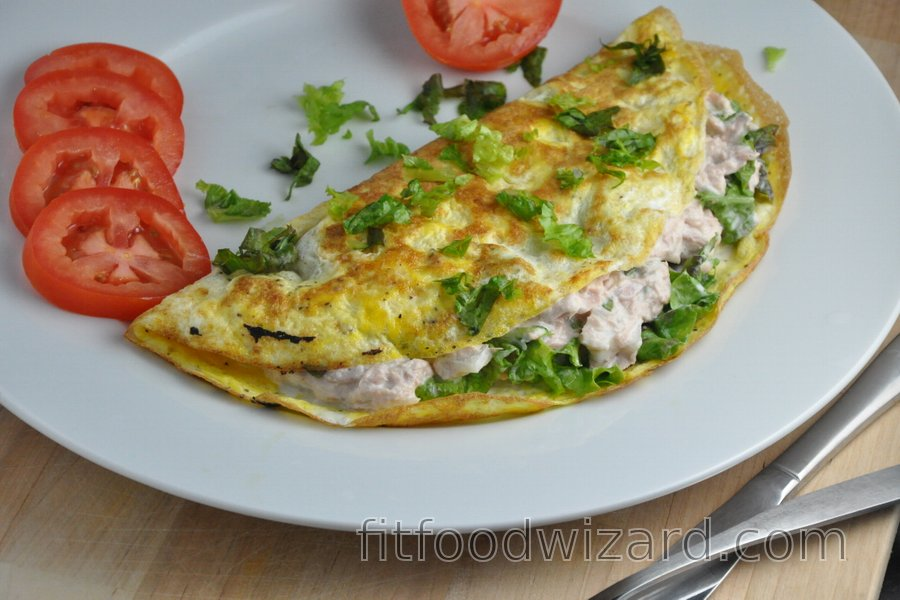 The Best Fitness Tuna Omelet