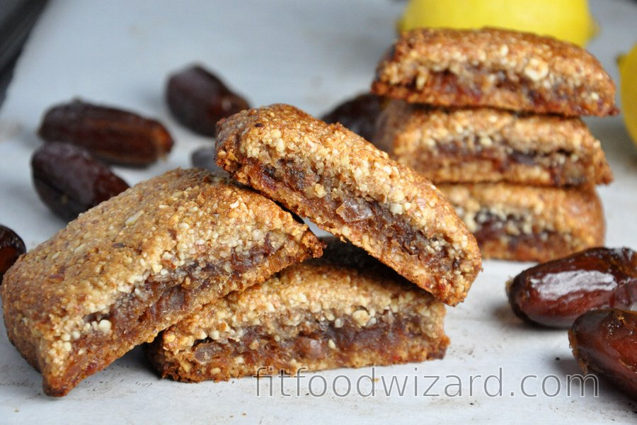 Almond Newtons with Date Filling (Gluten-Free)