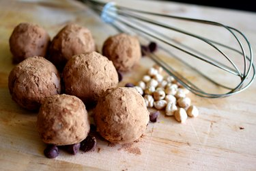 Chickpea Balls in Cocoa coating (Gluten-Free)