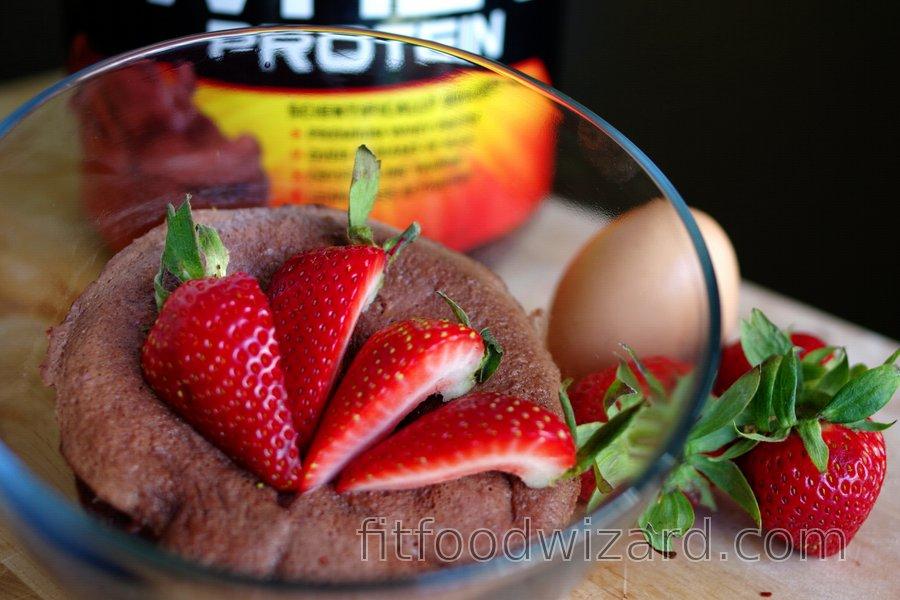 Quick Protein Mug Cake  (Gluten-Free, Sugar-free)