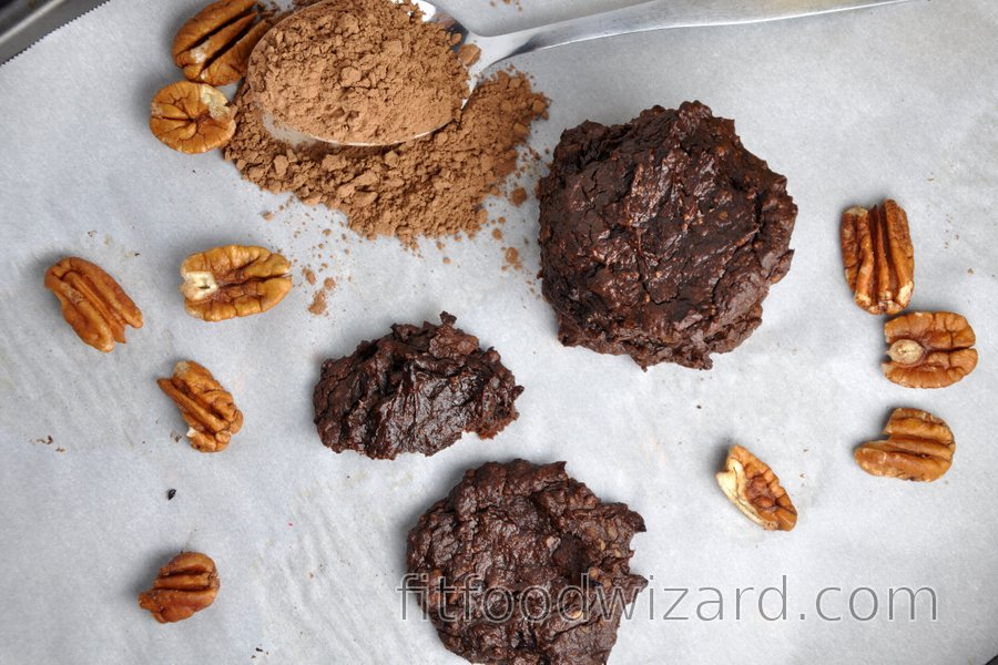 Flourless Avocado-Cocoa Cookies
