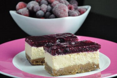 Fitness Yogurt Cheesecake (Gluten-free and Sugar-free)