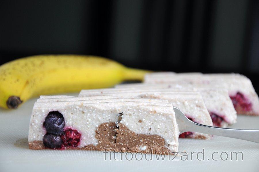 No-Bake Banana-Quark Dessert (Gluten-Free)