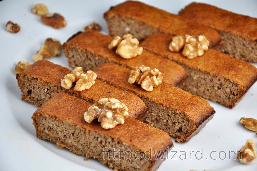 Easy 3-Ingredient Walnut Cake (Gluten-Free)