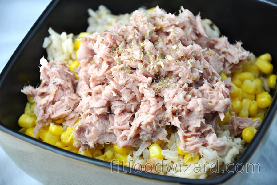 Fit Tuna Rice with Corn