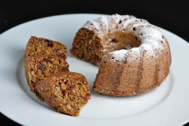 Healthy Oats Bundt Cake