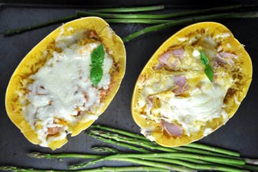 Healthy Stuffed Spaghetti Squash