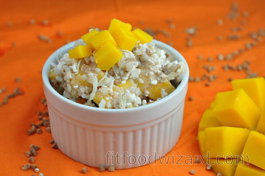 Healthy Salad with Mango