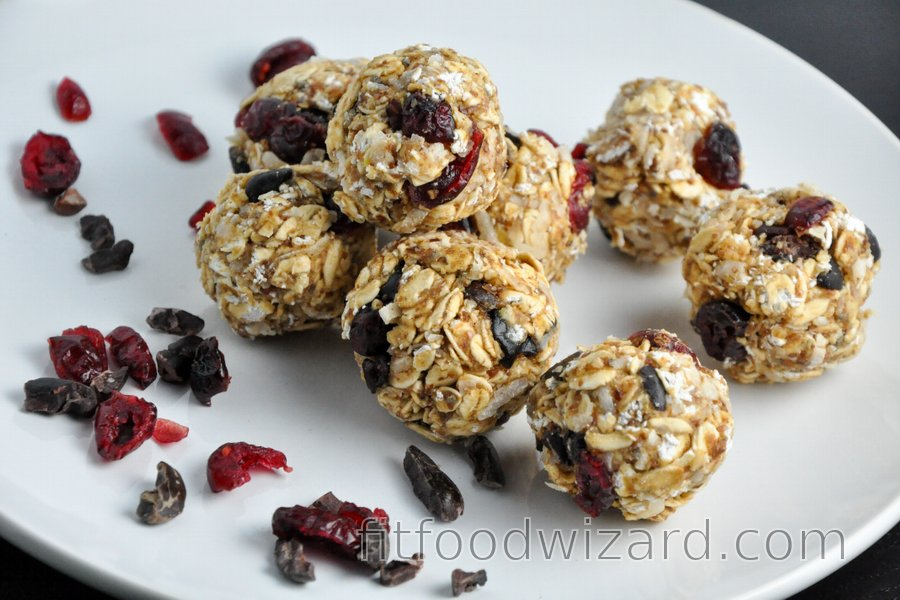 Breakfast Energy Fitness Balls