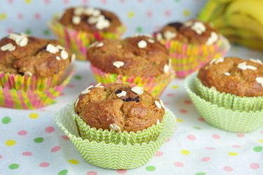 Healthy Banana Oatmeal Muffins Recipe