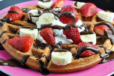 Gluten-Free Protein Waffles/Pancakes