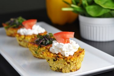 Healthy Tofu Muffins (Savory, Gluten-Free, Egg-Free)