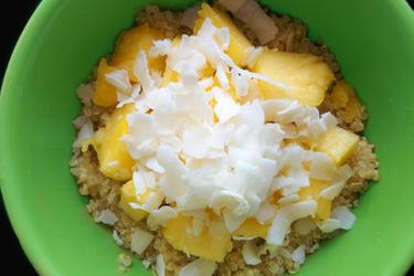 Exotic Coconut-Pineapple Quinoa