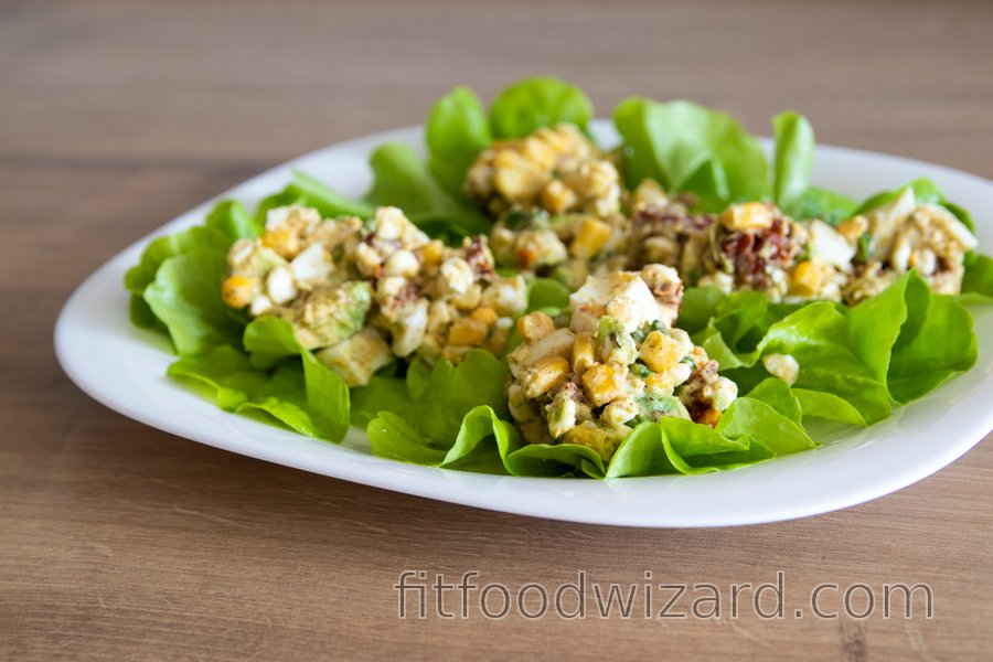 The Best Healthy Avocado Egg Salad