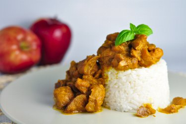 Fitness Chicken Curry with Apples