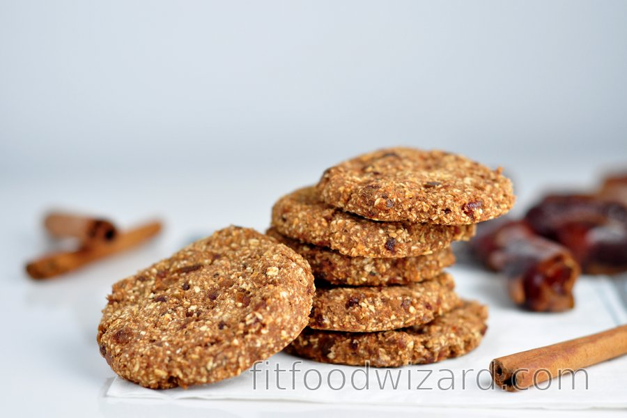 Simple cinnamon-oat cookies without flour