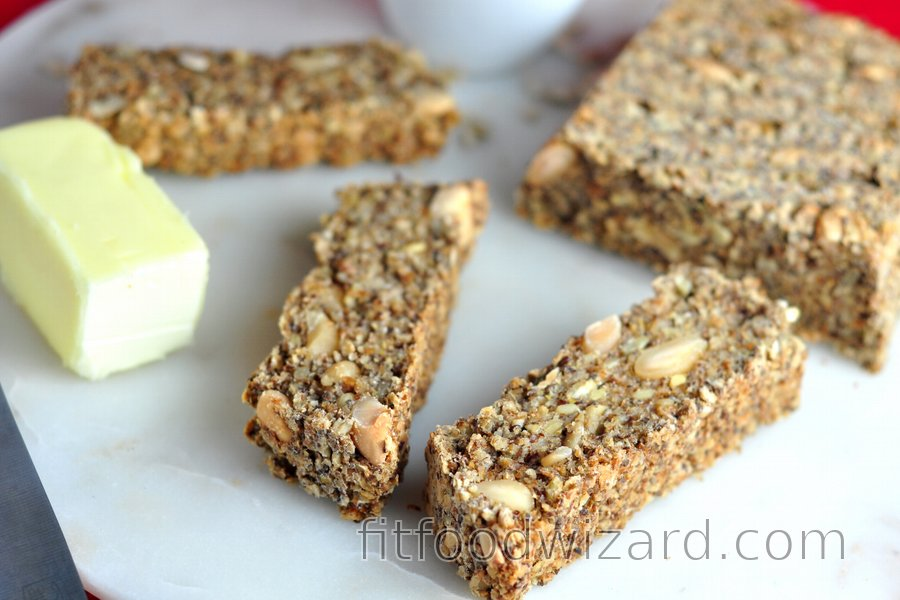 Healthy Oat & Seed Bread (Flourless)