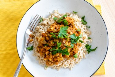 Easy Indian Lentil Curry