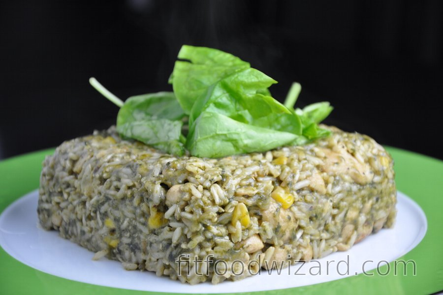 Delicious Chicken Spinach Risotto