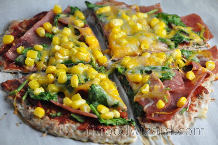 Fitness Tuna Pizza Crust