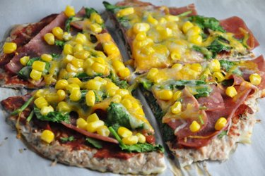 Fitness Tuna Pizza Crust