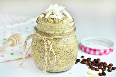 Coconut Latte Chia Pudding Recipe