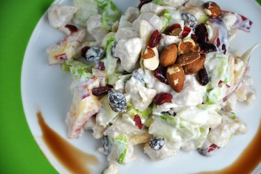 Delicious Fruit Chicken Salad