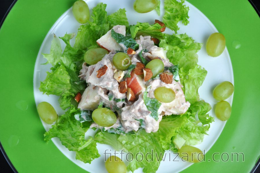 Healthy Tuna Vegetable-Fruit Salad