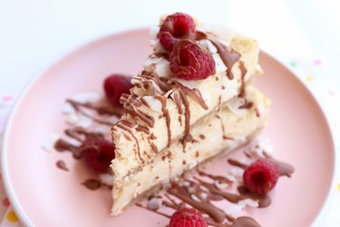 The best fit coconut cheesecake