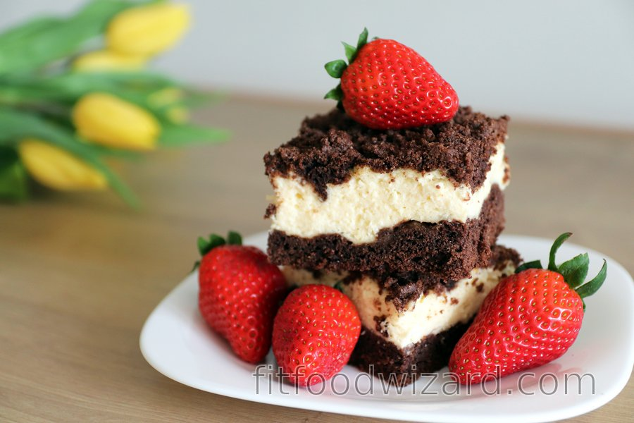 Fit grated quark cake