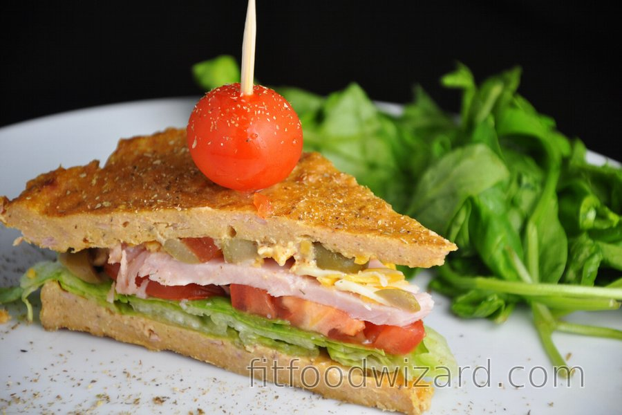 Healthy Tuna Sandwich (Gluten-Free)