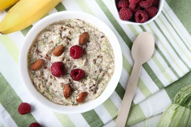 Zucchini porridge