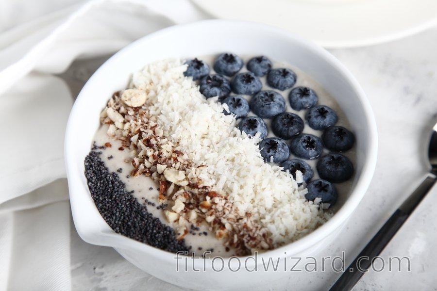 Quick breakfast porridge