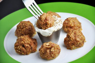 Healthy Baked Tuna Balls