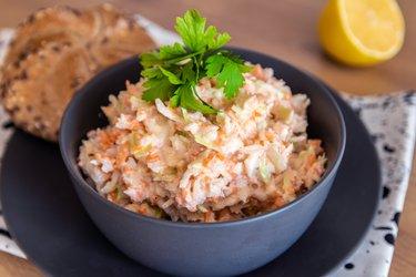 Skinny Healthy Coleslaw Salad