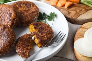 Healthy Baked Carrot Patties