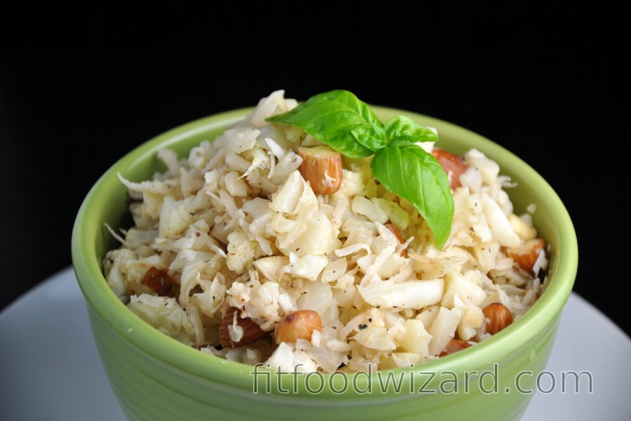 "Coconut-Cauliflower ""Risotto"" without Rice"