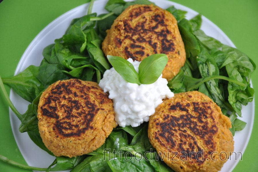 Healthy Lentil Patties