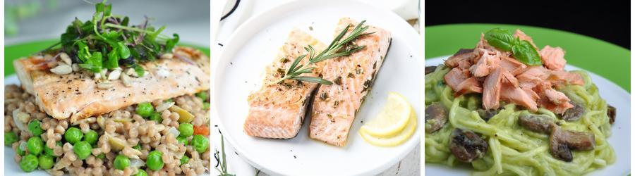 Healthy Salmon Salad Recipes