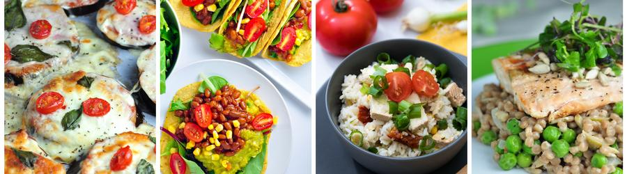 Easy & Healthy Dinner and Lunch Recipes