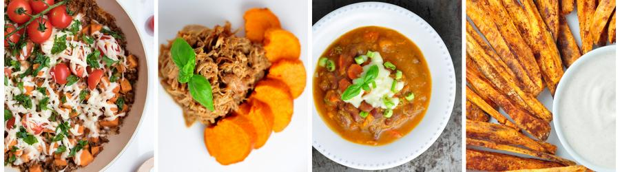 Low Calorie Sweet Potato Recipes for Weight Loss