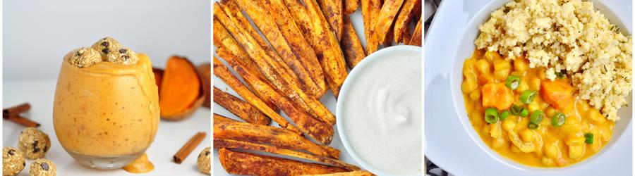 Healthy Vegan Sweet Potato Recipes