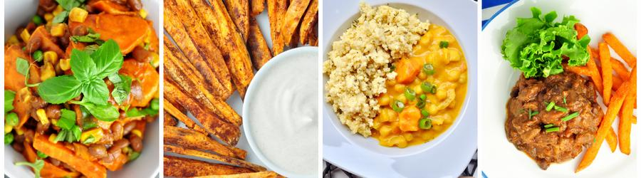 Healthy Sweet Potato Recipes