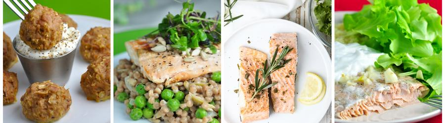 Easy & Healthy Salmon Recipes