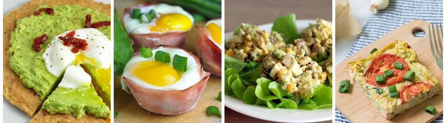 Easy & Healthy Egg Recipes