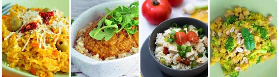 Healthy Dinner and Lunch Rice Recipes
