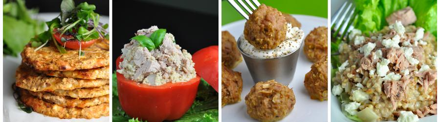 Healthy Tuna Dinner and Lunch Recipes