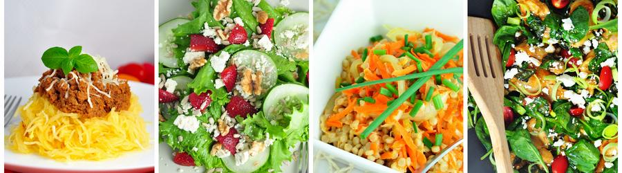 Healthy Vegetable Dinner and Lunch Recipes